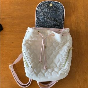 Betsey Johnson quilted bag